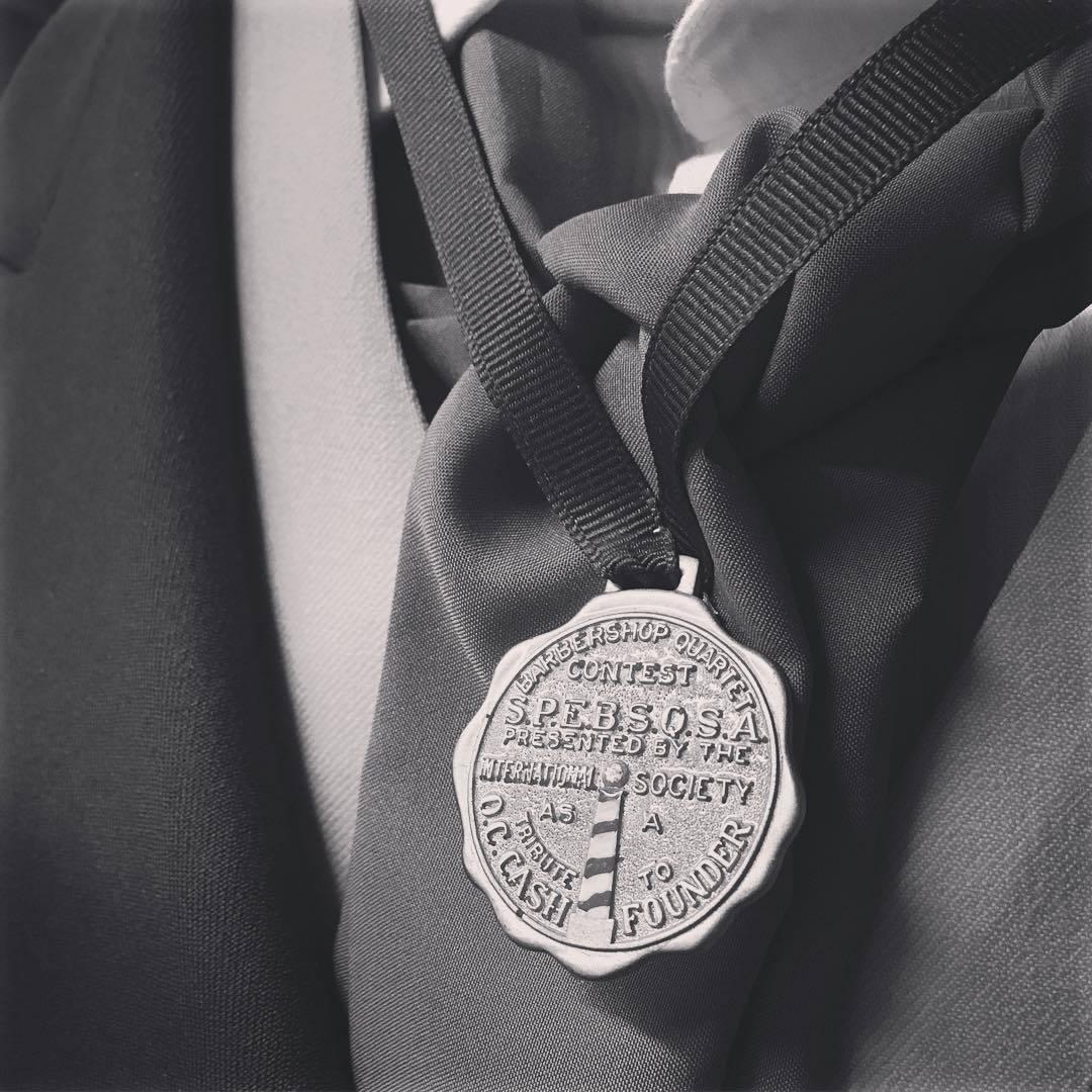 AIC - champion medal