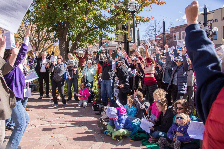 Sing Along Boulder 2017 Upfront