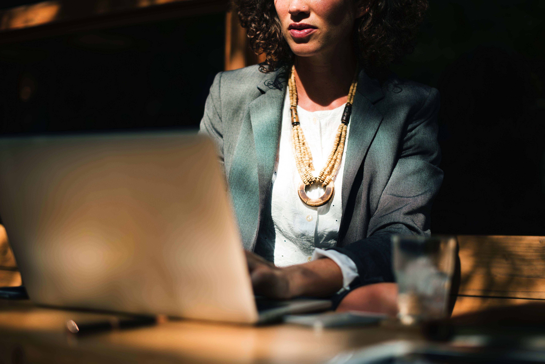 General - Woman Using Computer