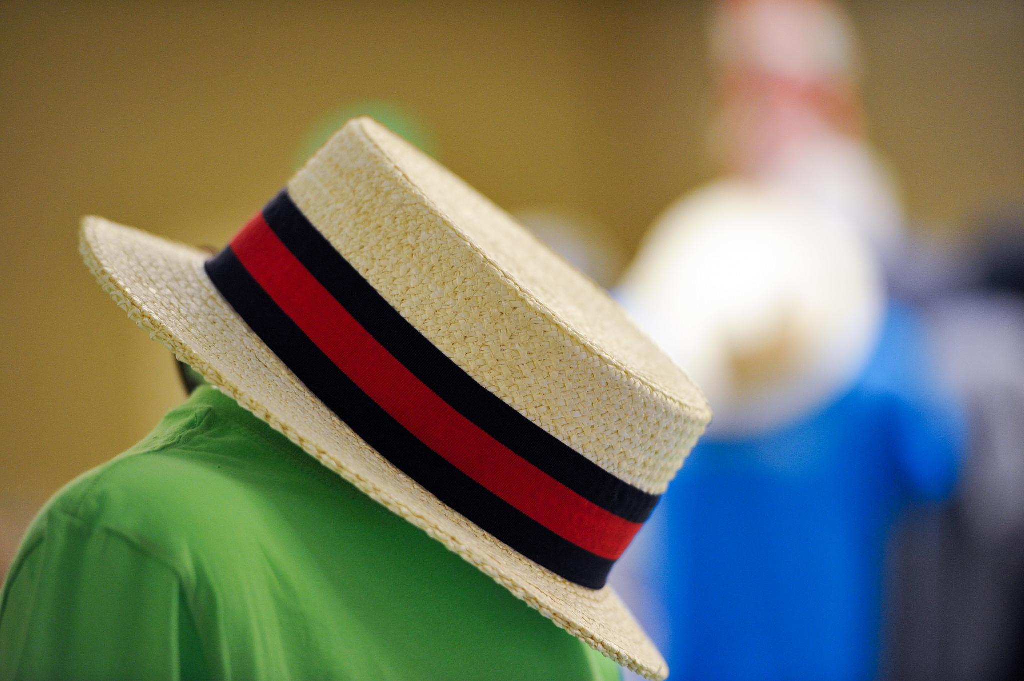 GENERAL - boater hat green 2