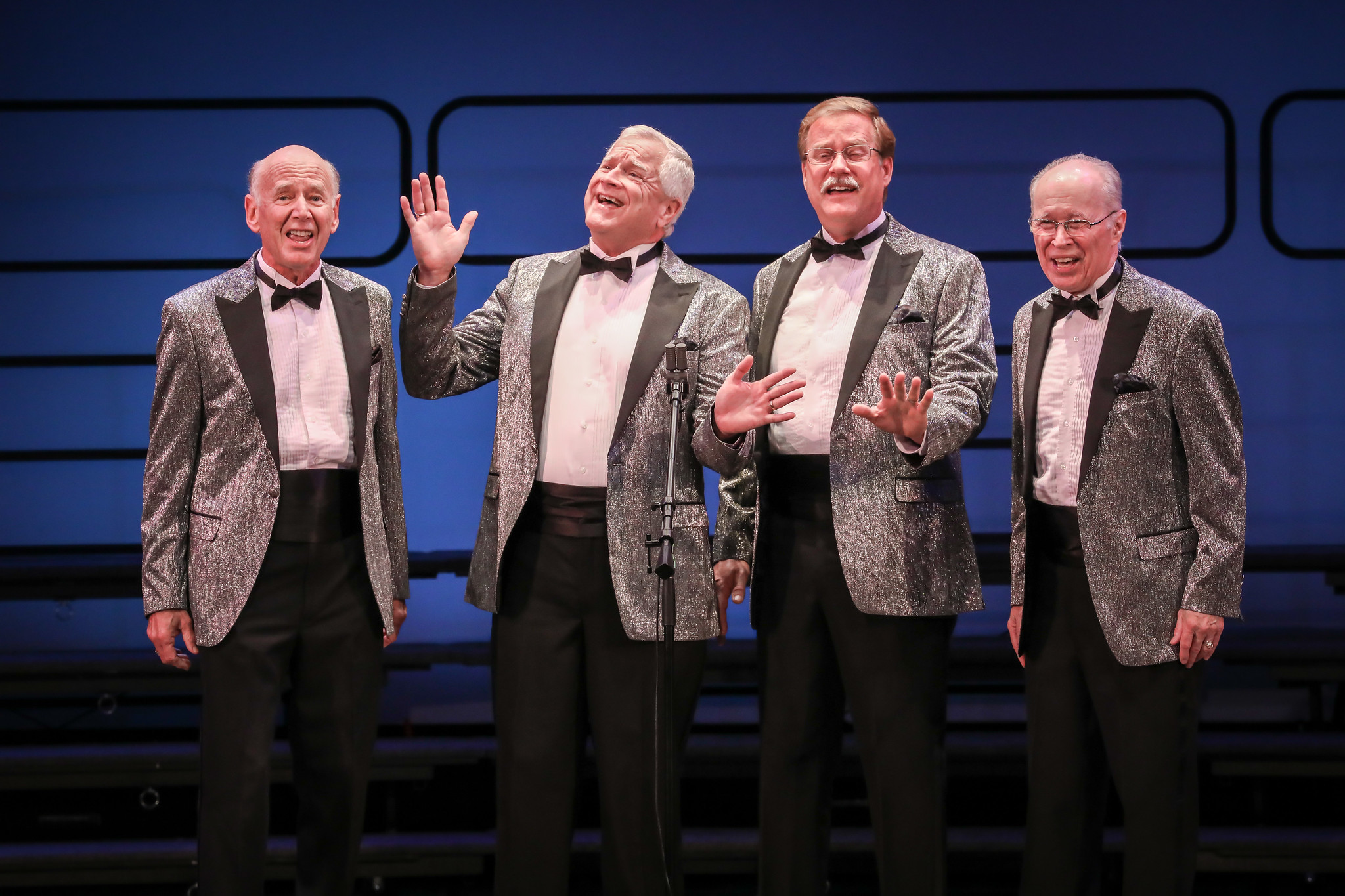 Seniors Quartet Silver Alert performs at Midwinter 2020